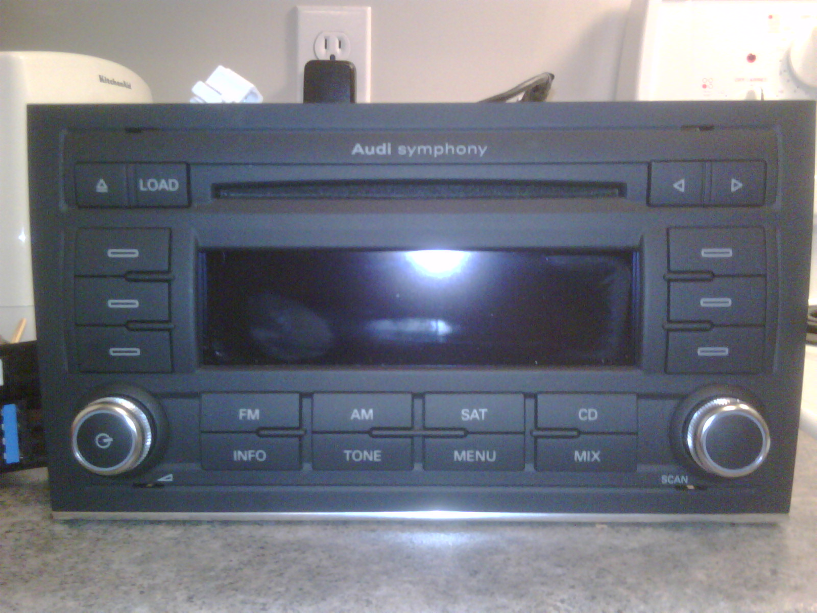 for sale audi symphony 2 mp3 radio. Black Bedroom Furniture Sets. Home Design Ideas
